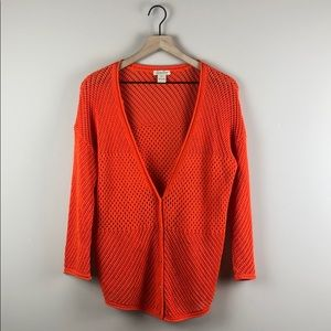 Lucky Brand Loose Knit Cardigan Sweater (XL)